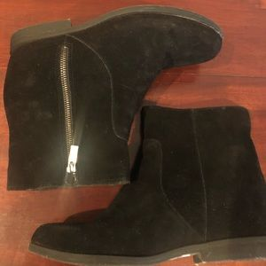 Kenneth Cole Reaction LIFT IT Short suede 10 boots